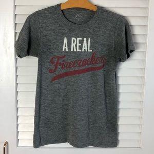 Jcrew Real Firecracker Graphic T-shirt